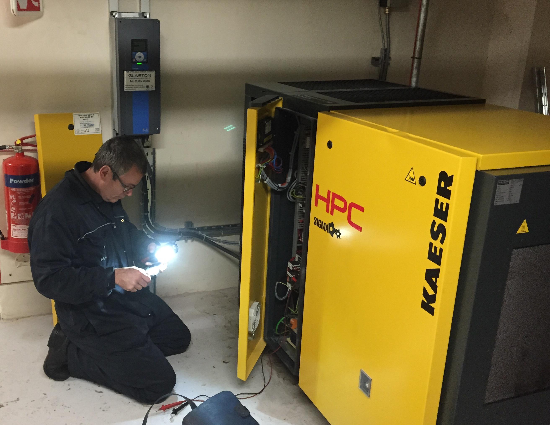 air compressor maintenance checklist pdf